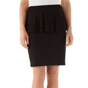 White House Black Market Women Peplum Waist Skirt